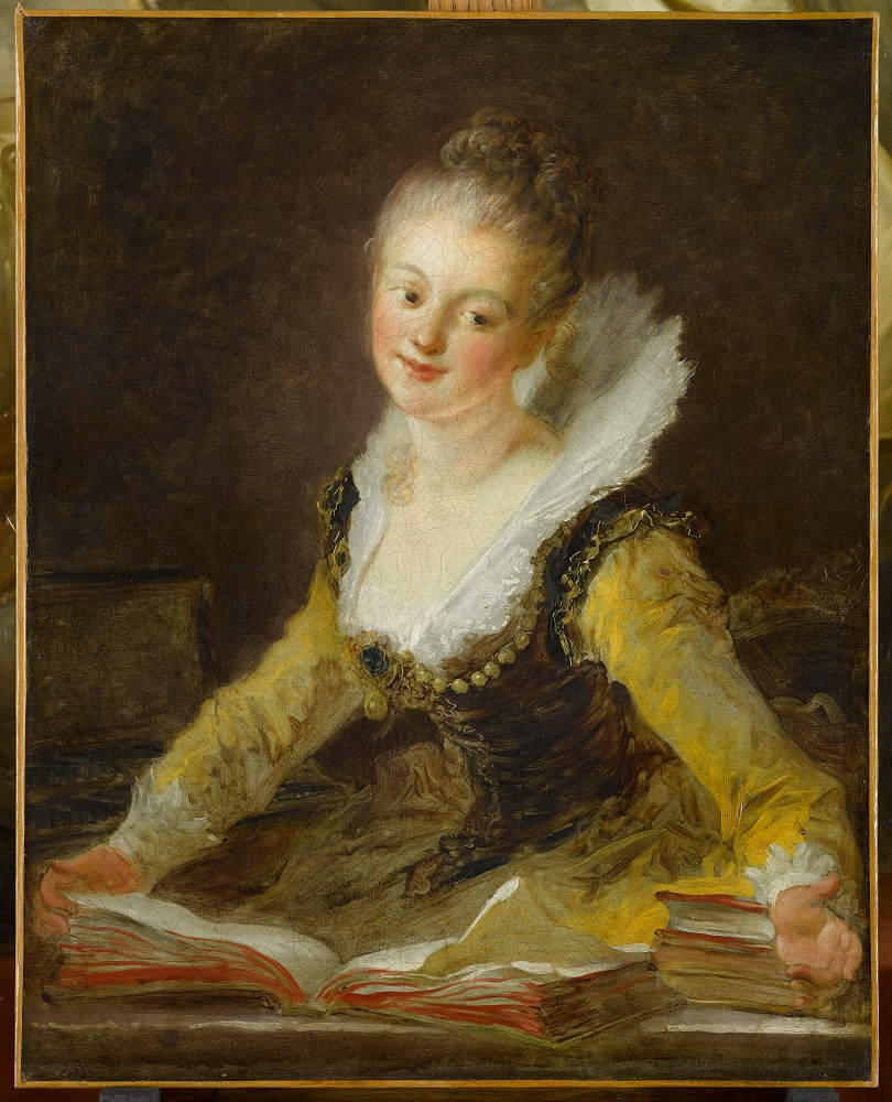 Portrait of Anne-Louise Boyvin d'Hardancourt Brillon de Jouy
